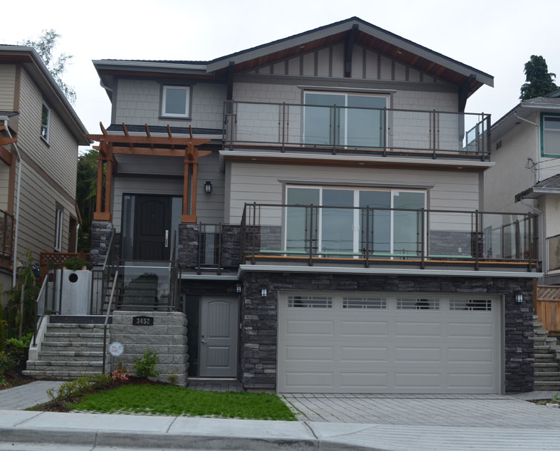 Mahon Ave. North Vancouver custom home